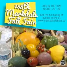 3 visitors have checked in at Markdale Fall Fair. Events, Fall, Autumn