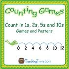 Consolidate counting in ones to one hundred and skip counting in twos, fives and tens. Each game card has a different starting number so that your ...