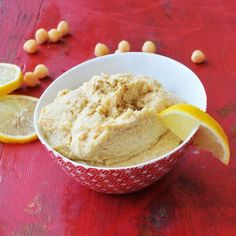 Tofu Recipes: Lemon Garlic Hummus