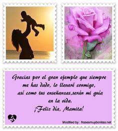 saludos para el dia de la madre,salutaciones para el dia de la madre:  http://www.frasesmuybonitas.net/frases-de-amor-para-tu-madre/
