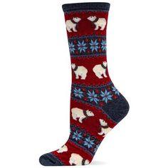 Polar Bear Crew Socks