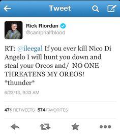 Once again, @Bianca di Angelo , an Oreo tweet.