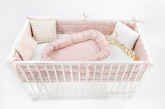 Cot bumper for babies. Unique design and beautiful colours. Find more www. Cot Bumper, Bassinet, Colours, Bed, Babies, Furniture, Unique, Design, Home Decor