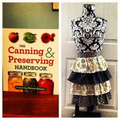 Vintage Homemaking Week: Day One giveaway. A retro apron and a canning manual. Join me all this week for old-fashioned skills for today's busy woman.