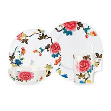 Japanese Floral Dinnerware