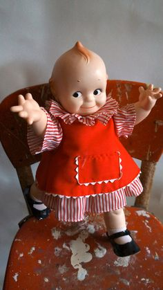 1967 Cameo Jesco Kewpie Dolls my Hoku is the brown version of this doll:-)