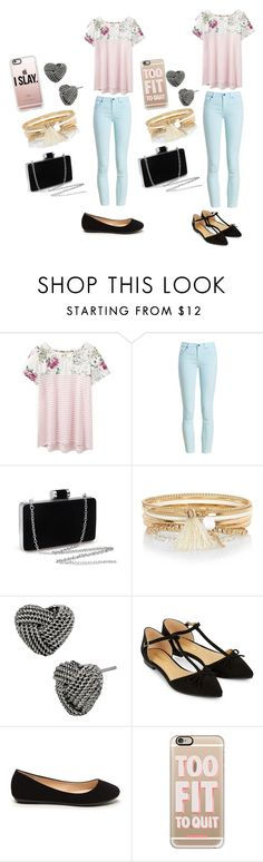 """""""Best Friend Goals"""" by desakabeauty on Polyvore featuring Joules, Barbour, River Island, Betsey Johnson, Accessorize and Casetify"""