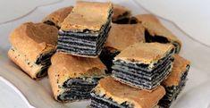 Prekladaný makový koláč - Receptik.sk Quick Recipes, Sweet Recipes, Baking Recipes, Cake Recipes, Poppy Cake, Homemade Sweets, Czech Recipes, Food Cakes, Ice Cream Recipes
