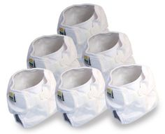 Real Nappies 6-Pack of Snug Wrap Diaper Covers, Infant Size, for babies 3 to 6 months, 11 lb to 20 lb Real Nappies http://www.amazon.com/dp/B003FPQKAQ/ref=cm_sw_r_pi_dp_QqYRtb1Z7B5C6XSY