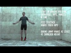 Instruction video on 'Jumping Jacks' Jumping Jacks, Exercises, Positivity, Feelings, Stars, Fit, Youtube, Exercise Routines, Exercise Workouts