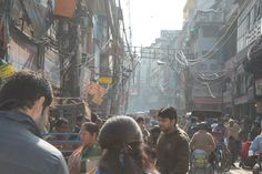 Old Delhi. (Thanks to Rosie for the photo).