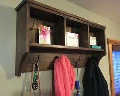 This listing is for an over-the-toilet ladder shelf. Its a great space saver. It does ship disassembled so please read the rest of the description. We do have some Dark Walnut stained ladder shelves that ship within 1 business day that you can view here: Cubbies, Cubby Shelves, Wall Hanging Shelves, Floating Shelves, Shelving, Over The Toilet Ladder, Minwax Stain, Handmade Wall Hanging, Dark Walnut Stain
