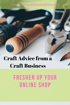 Give your online shop a freshen up mini makeover to improve your online sales spring clean your store #etsy #onlinestore #sellonline Business Goals, Business Advice, Business Branding, Online Business, Business Education, Business Products, Business Management, Decoupage Letters, 7 Places