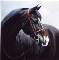 Janet Crawford, horse, art, hunter jumper