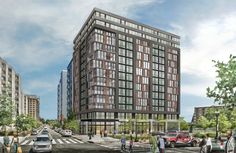 <p>Lima Hotels plans to develop a 14-story building on the corner of 4th and K Streets, NW in downtown Washington, DC. Scheduled to break ground in mid-2016, the high-rise structure will have 200 hotel rooms on the first through 11th floors, topped by 30 apartment homes on the 12th through 14th floors.</p>