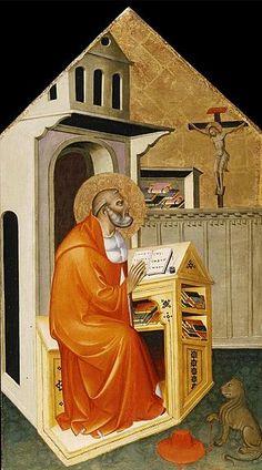 Cecco di Pietro - San Girolamo nello studio - circa 1370 - North Carolina Museum of Art, Raleigh