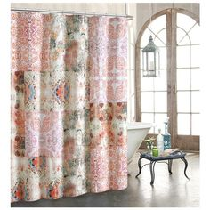 Tracy Porter For Poetic Wanderlust 'Wish' Shower Curtain ($60) ❤ liked on Polyvore featuring home, bed & bath, bath and shower curtains