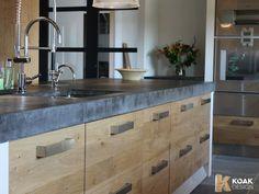 Keuken op basis van Ikea keukenkasten