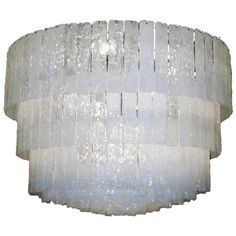 Murano Glass Ceiling Light | From a unique collection of antique and modern chandeliers and pendants  at http://www.1stdibs.com/furniture/lighting/chandeliers-pendant-lights/