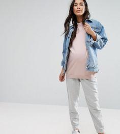 ASOS Maternity Jersey Jogger - Gray