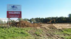 WilTec Bauvorhaben: Ernst-Abbe-Str. - Eschweiler Tag 1   #eschweiler #lagerhalle #Bagger
