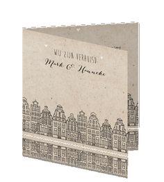 Amsterdamse verhuiskaarten stad amsterdamse grachtenpanden #verhuiskaartje #verhuiskaart