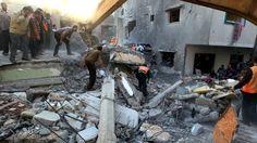 Gaza: four children killed in single Israeli air strike | World news | The Guardian