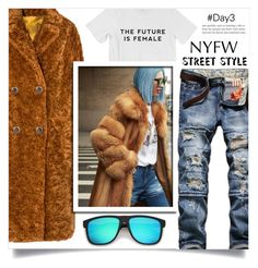 """""""NYFW Street Style: Day Three"""" by dolly-valkyrie ❤ liked on Polyvore featuring GetTheLook, StreetStyle and NYFW"""