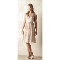 Another option for bride's maid dress  (from Midnight Velvet)
