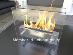 ethanol fireplace FD47 + stainless steel + table top(China (Mainland))