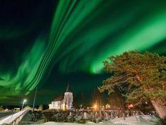 Auroras boreales desde Senja, Noruega