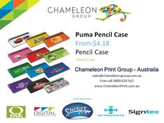 Puma Pencil Case - Chameleon Print Group  http://chameleonprint.com.au/product/puma-pencil-case/