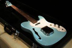 Fender Telecaster Thinline Blue Custom