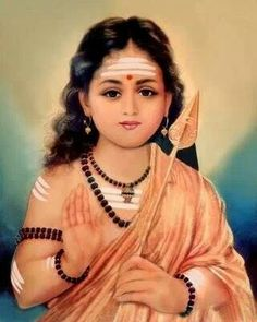 Subramanya, son of Shiva and Parvati and also called Muruga, Karthik, Kumara or Shanmukha, Divine Mother, Mother Goddess, Lord Murugan Wallpapers, Lord Ganesha Paintings, Lord Shiva Family, Shiva Shakti, Hindu Deities, Indian Gods, Durga