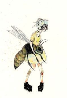 Illustration Abeille / Bees Pict on Pinterest | 236 Pins