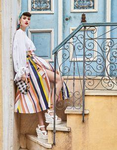 VOGUE Taiwan June 2017 Anais Pouliot photographed by Enrique Vega   fashion editorial fashion photography