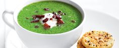 Broccoli and Bacon Soup recipe, brought to you by MiNDFOOD.