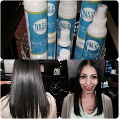 New smoothing System. BASICS-amino acid smoothing system uses NO formaldehyde. come into SALON DE' DAWN