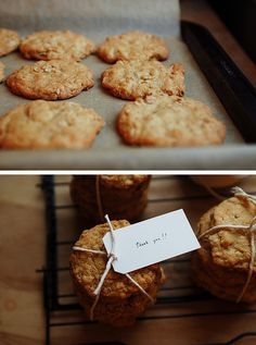 'Thank You' Cookies... Cute!