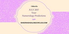 Numerology Predictions - July 2017 #isheeria Leadership Personality, Numerology Calculation, What Is Your Name, Birth Certificate, Meaning Of Life, Motivate Yourself, Optimism, Getting Old, No Response