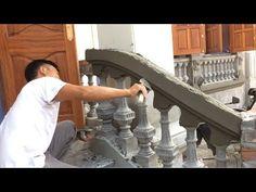 How To Build a Precast Balustrade - Creative Installation Beautiful House Porch Railing