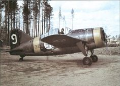 Colorized Photos and Artwork — redarmyscreaming: Brewster in Finnish. Cienfuegos, Ww2 Aircraft, Military Aircraft, Military Weapons, Brewster Buffalo, Finnish Air Force, Ww2 Planes, Modern History, Women's History