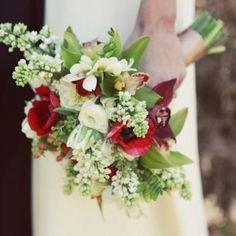 Spanish-inspired bridal bouquet by Kaleb Norman James Design   kalebnormanjames.com