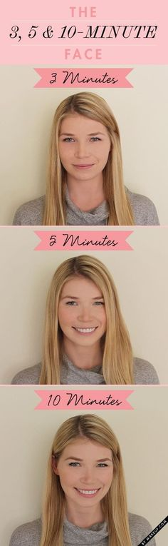 Probiere diese super einfachen Make-up-Anleitungen aus.