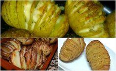 Como Preparar las Patatas Hasselback