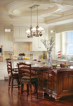 Cherry kitchen Cabinets. Cherry #Kitchen #cabinets