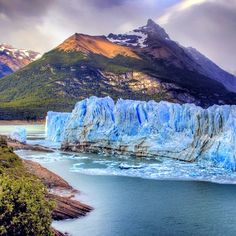 Perito Moreno Glacier, Patagonia. Photo by fgonzalezi.