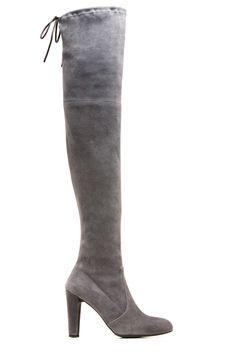 Stuart Weitzman- Highland Boot. the perfect grey the perfect heel