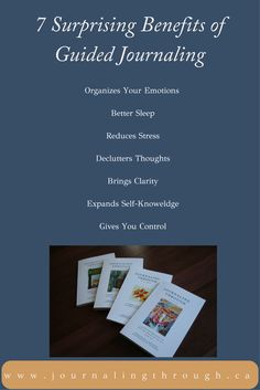 7 Surprising Benefits of Guided Journaling  #health #wellness #mindfulness #journaling #guided #spirituality #stress #caregivers #cancer #divorce #emotions