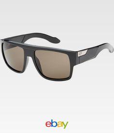 39fafd1d40 Fox Racing The Gran Sport Sunglasses Polished Black Frame Grey Polarized  Lens